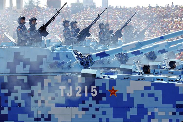 Le deuxième plus gros budget militaire au monde,... (PHOTO REUTERS)