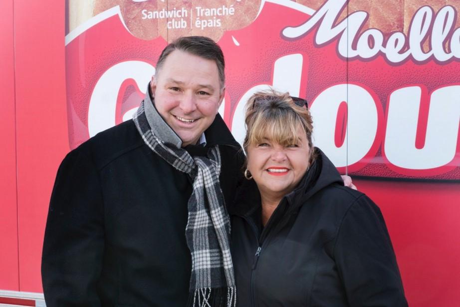Denis Provost, directeur des ventes de Boulangeries Weston... (PHOTO fournie parGadoua)