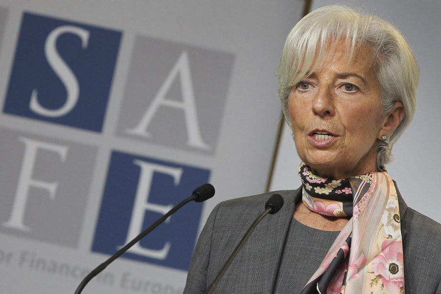 La patronne du Fonds monétaire international (FMI), Christine... (PHOTO DANIEL ROLAND, AFP)