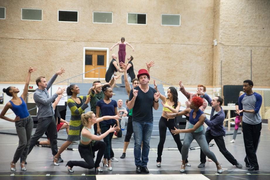 L'un des acteurs principaux de Paramour,Bradley Dean (chapeau... (PHOTO JENNY ANDERSON, FOURNIE PAR LE CIRQUE DU SOLEIL)