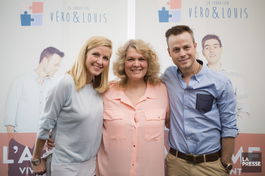 Véronique Cloutier, Guylaine Guay et Louis Morissette lors... (PHOTO ÉDOUARD PLANTE-FRÉCHETTE, LA PRESSE)