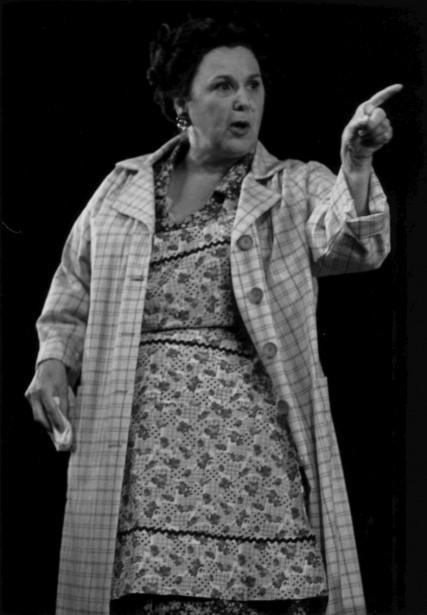 Rita Lafontaine dans la pièce de théâtreEncore une fois, si vous permettez (Archives Le Soleil)