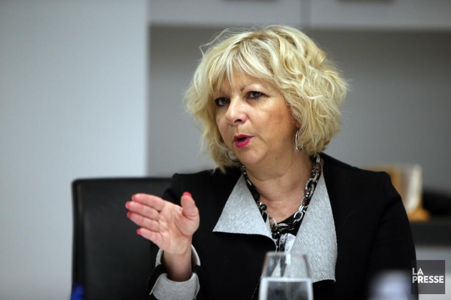 Josée Bouchard, présidente de laFédération des commissions scolaires... (Archives La Presse, Martin Chamberland)