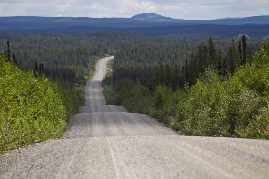 Le transport routier pourrait prendre en partie la... (PHOTO Hugo-Sebastien Aubert, archives La Presse)