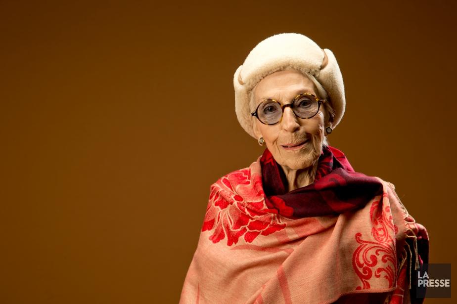 Janine Sutto revient sur ses 75 ans de... (DAVID BOILY, archives LA PRESSE)