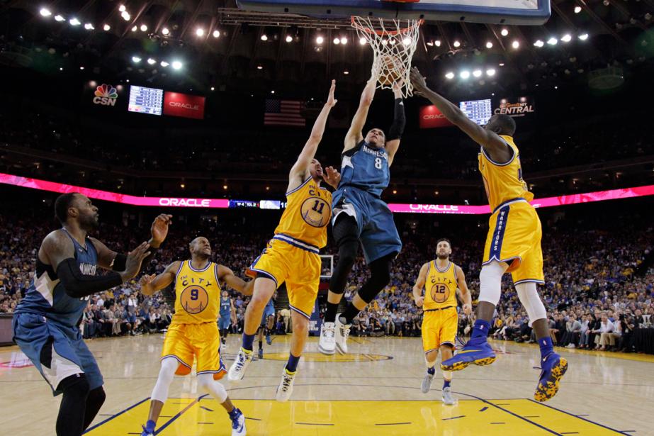 Les Warriors de Golden State ont subi leur... (Photo Marcio Jose Sanchez, AP)
