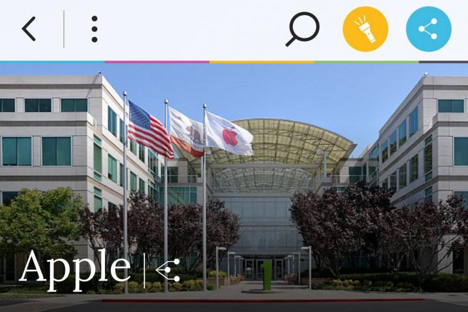 Un aperçu de l'applicationWikiwand.... (CAPTURE D'ÉCRAN DE L'APPLICATION)