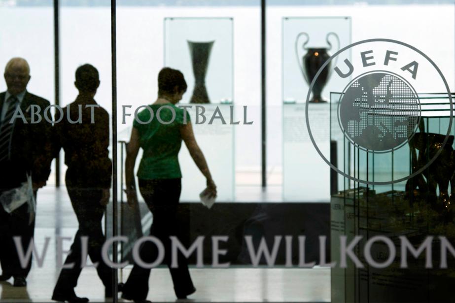 Le siège social de l'UEFA à Nyon, en... (Photo Denis Balibouse, archives Reuters)