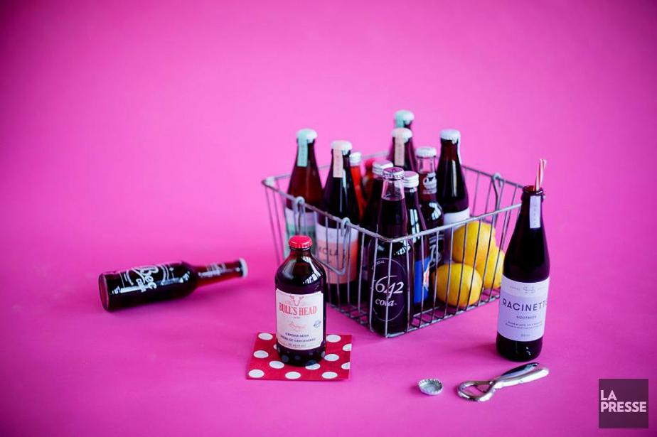 Les sodas sont souvent remplis de souvenirs et... (PHOTO ALAIN ROBERGE, LA PRESSE)
