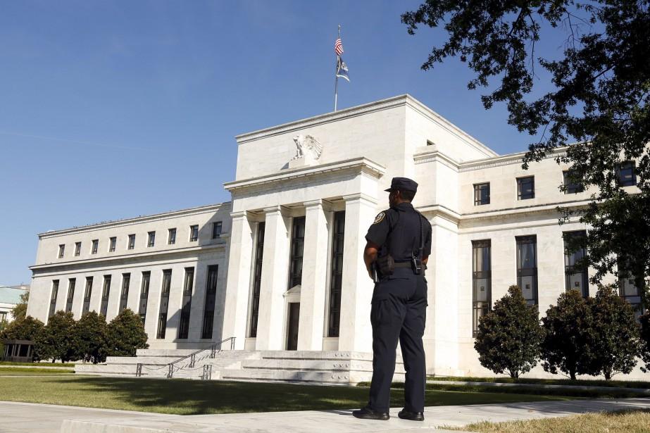 La banque centrale américaine (Fed)... (PHOTO KEVIN LAMARQUE, ARCHIVES REUTERS)