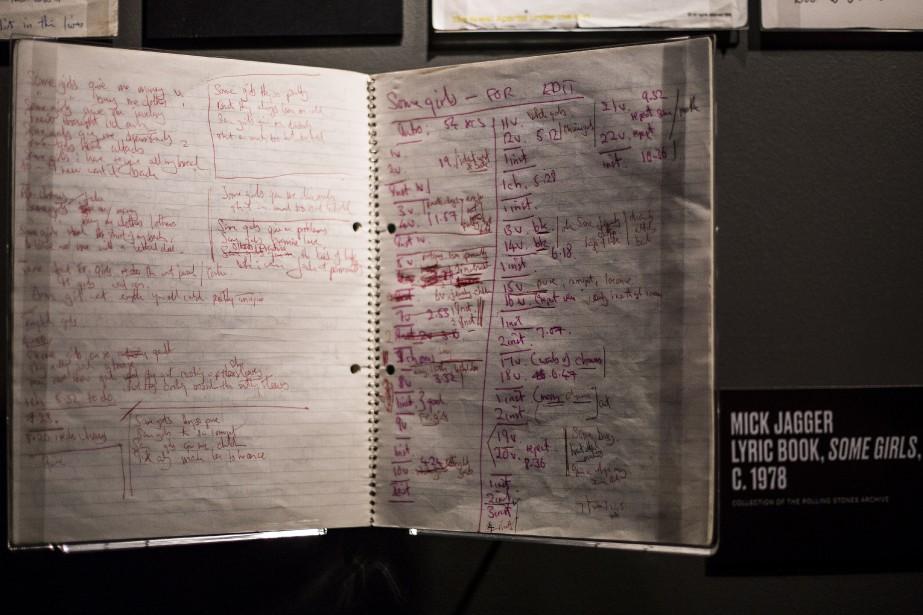 Les paroles de Some Girls écrites par Mick Jagger (AP, Joel Ryan)