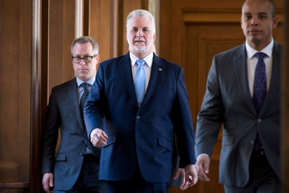 À son arrivée au pouvoir en avril 2014,... (Photo Martin Chamberland, archives La Presse)