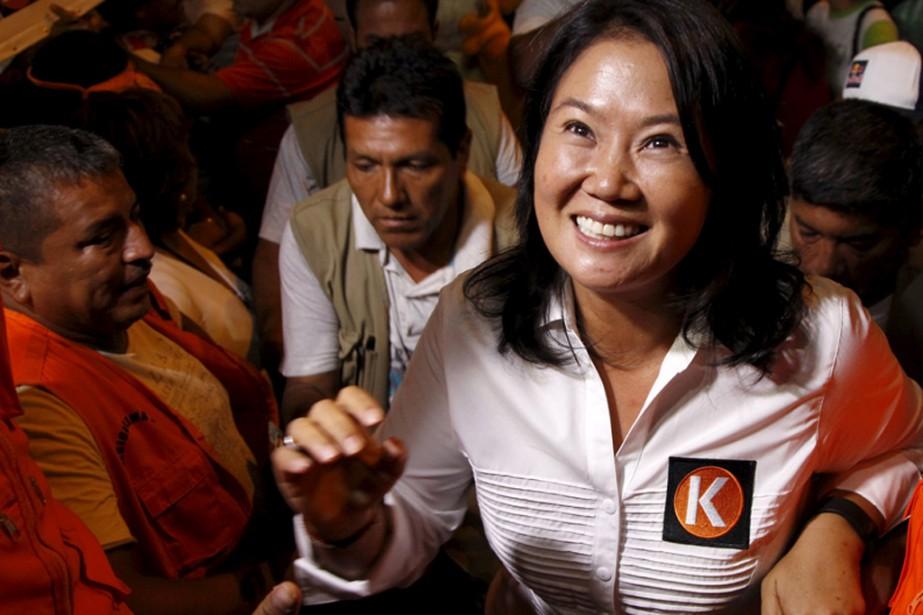 Le pèrede la candidateKeiko Fujimori, Alberto Fujimori,a dirigé... (PHOTOJANINE COSTA, REUTERS)