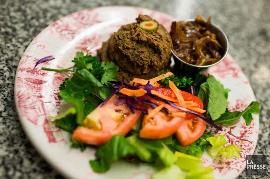 Le foie haché est un plat traditionnel de... (PHOTO OLIVIER PONTBRIAND, LA PRESSE)