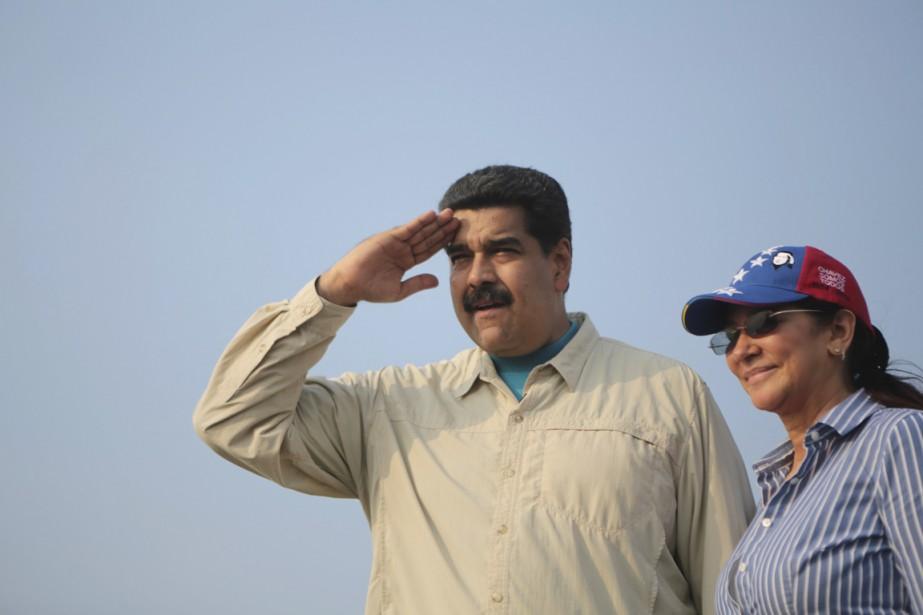 Le président Maduro, que l'on voit ici en... (PHOTO ARCHIVES REUTERS/PALAIS MIRAFLORES)