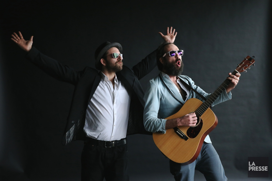 Tony Légal et Paul Sèxe, quiforment le duo... (PHOTO MARTIN CHAMBERLAND, LA PRESSE)