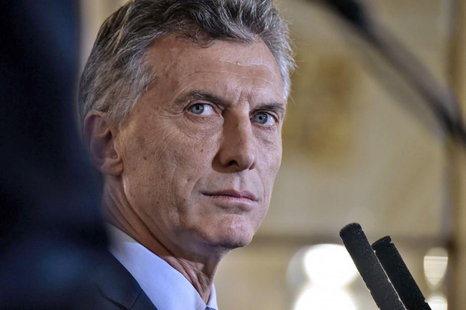 L'enquête devra notamment déterminer si Mauricio Macri, élu... (PHOTO NICHOLAS KAMM, ARCHIVES AFP)