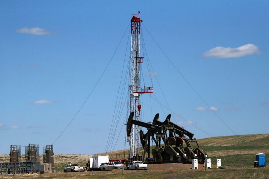 Les cours du pétrole ont encore fini en nette hausse... (PHOTO ARCHIVES AP)