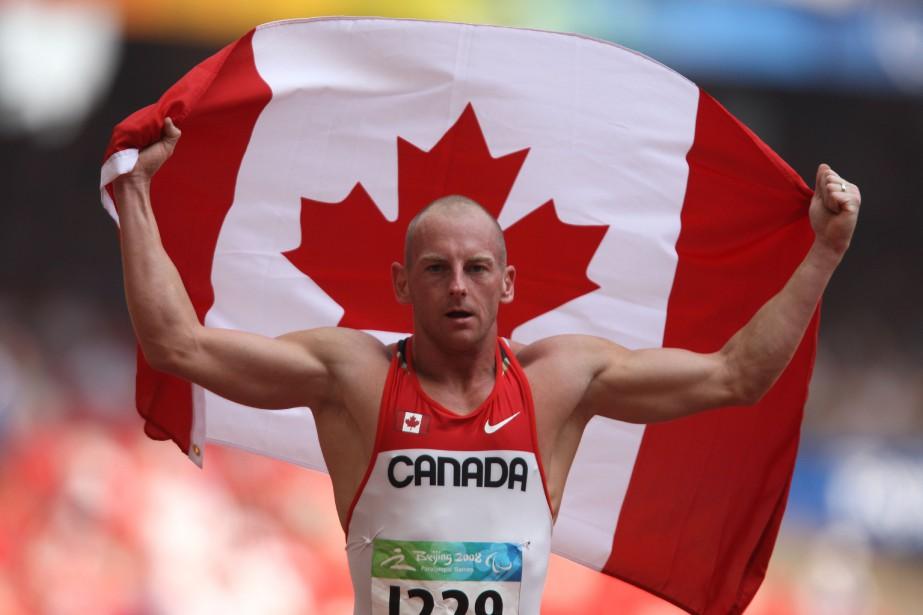 Connor, qui porte une prothèse à la jambe... (PHOTO MIKE RIDEWOOD, CPC, VIA LA PRESSE CANADIENNE)
