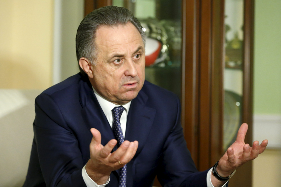 Le ministre russe des Sports, Vitali Moutko.... (Photo Maxim Zmeyev, Reuters)