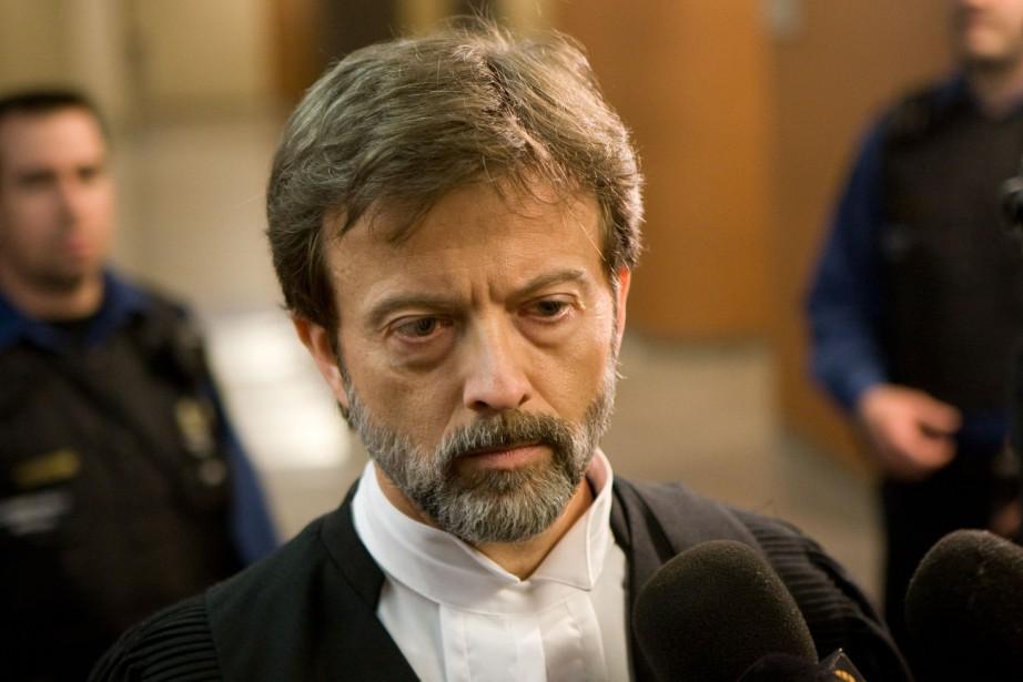 Le juge Randall Richmond, alors procureur de la... (Photo David Boily, archives La Presse)
