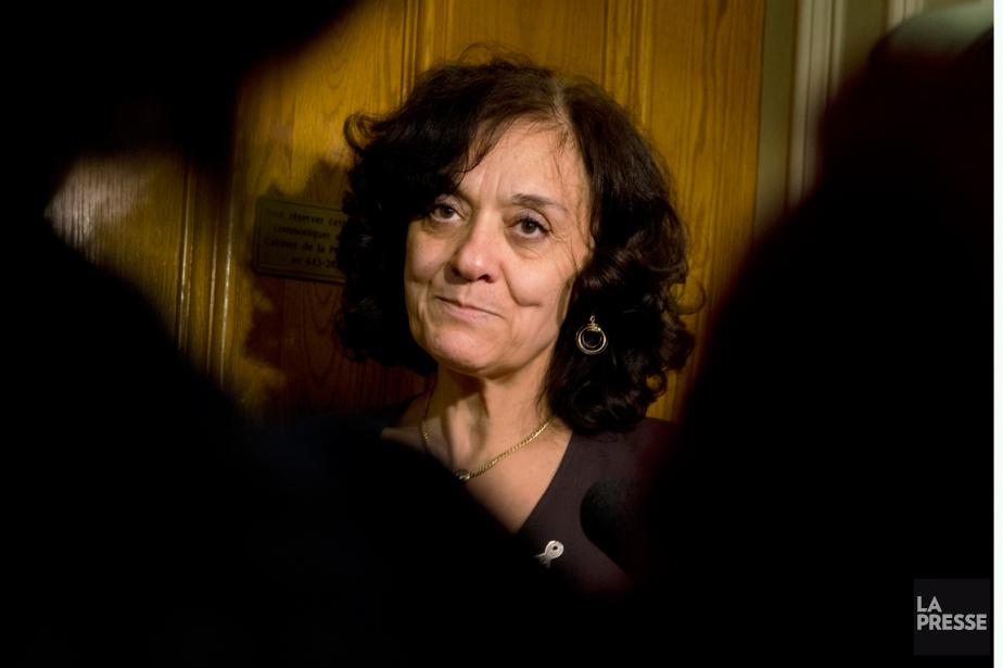 La ministre responsable de la Réforme des institutions... (PHOTO IVANOH DEMERS, ARCHIVES LA PRESSE)