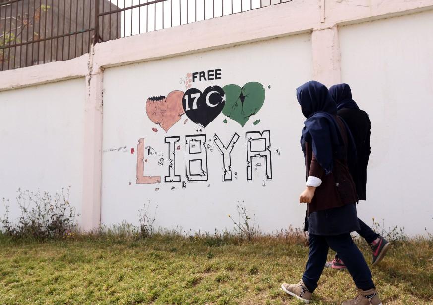 Le gouvernement libyen d'union nationale dirigé par Fayez... (PHOTO MAHMUD TURKIA, AGENCE FRANCE-PRESSE)