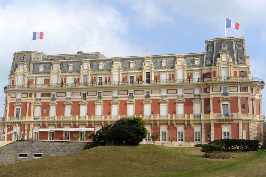 L'Hôtel du Palais a été construit en 1855... (PHOTO AFP)