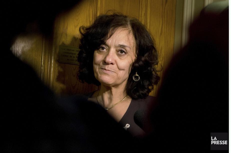 La ministre responsable de la Réforme des institutions... (Ivanoh Demers, Archives La Presse)