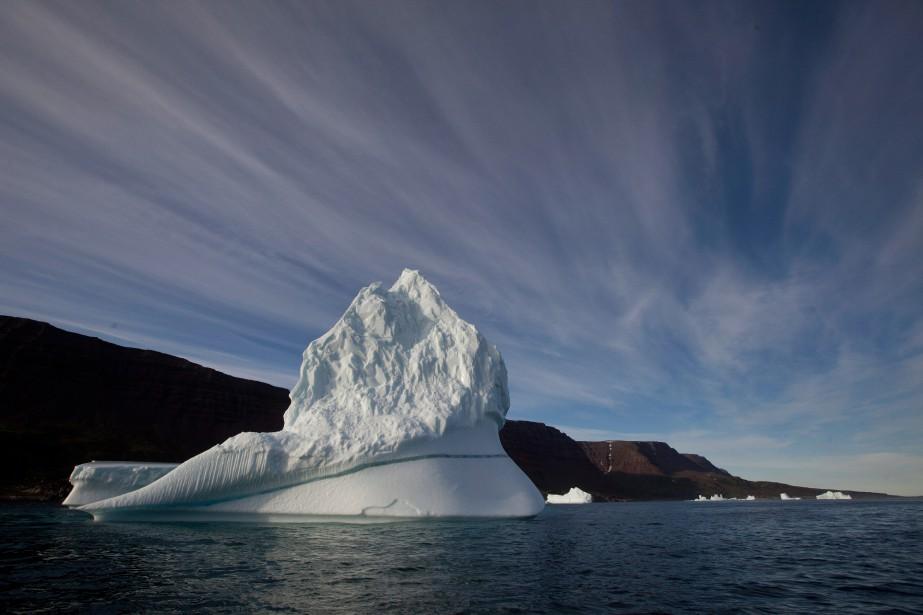 Le réchauffement de la planète fait fondre les... (PHOTO BRENNAN LINSLEY, ARCHIVES ASSOCIATED PRESS)