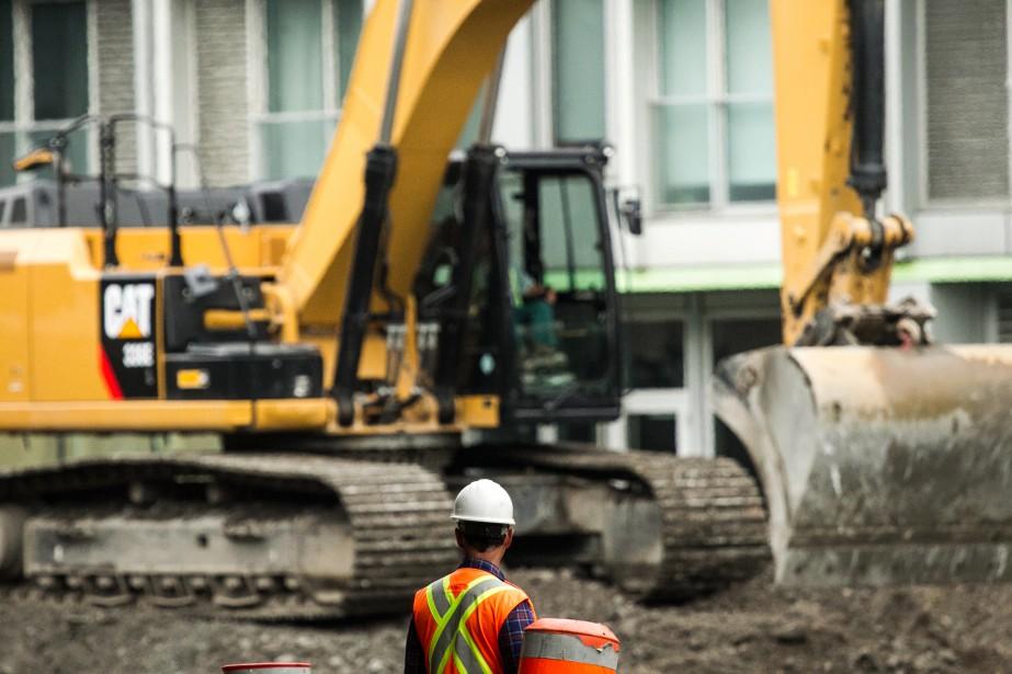 Les grands chantiers en cours dans l'île de... (PHOTO HUGO-SÉBASTIEN AUBERT, ARCHIVES LA PRESSE)