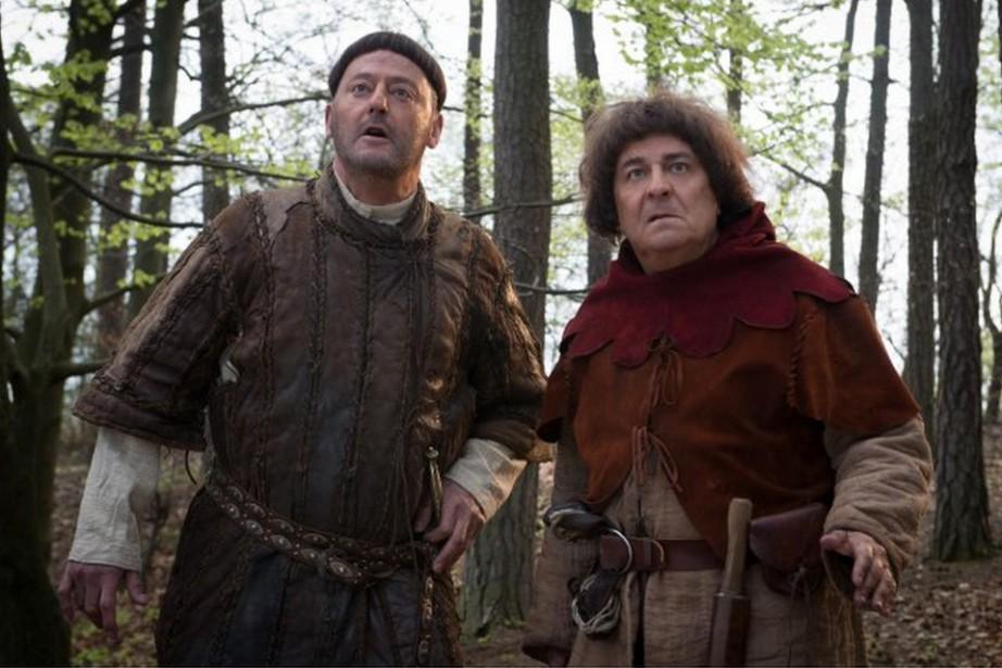 Godefroy de Montmirail (Jean Reno) et Jacquouille la... (PHOTO FOURNIE PAR AZ FILMS)