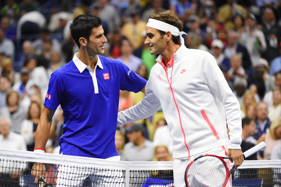 Novak Djokovic et Roger Federer... (PHOTO ROBERT DEUTSCH, ARCHIVES USA TODAY)