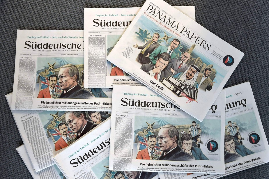 La source des révélations des «Panama Papers»... (PHOTO CHRISTOF STACHE, AFP)