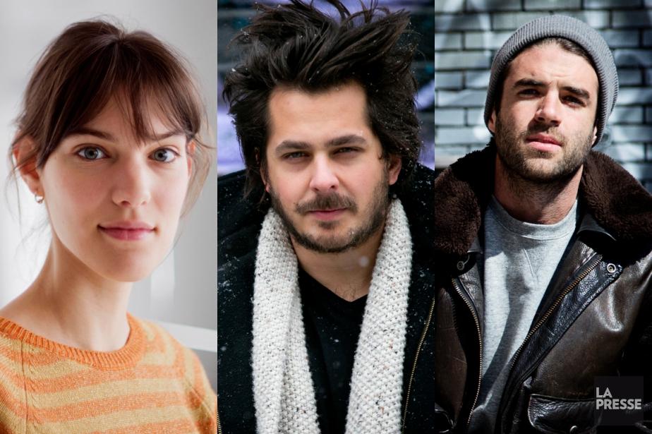Charlotte Cardin, Matt Holubowski et Geoffroy... (PHOTOS LA PRESSE)