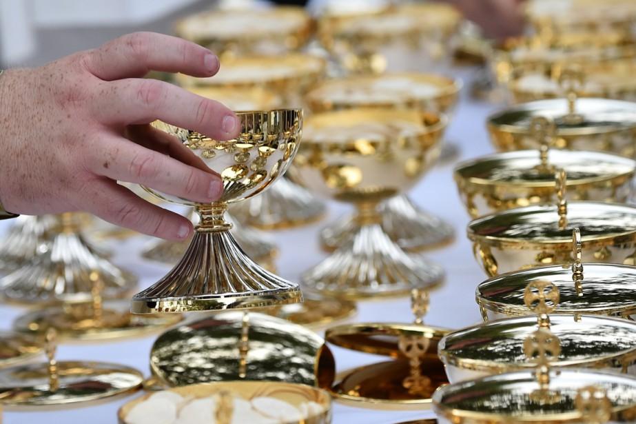 Des cambrioleurs s'en sont pris, dimanche, à l'église... (Photo archives AFP)