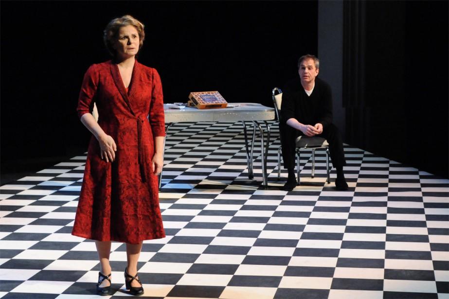 Guylaine Tremblay et Henri Chassé dans Encore une... (PHOTO CAROLINE LABERGE, FOURNIE PAR DUCEPPE)