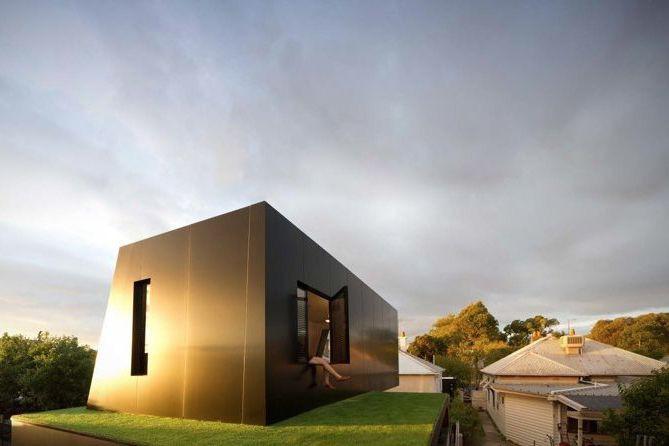 Pour agrandir la maison, les architectes ont choisi... (PHOTO FOURNIE PAR LES ARCHITECTES)