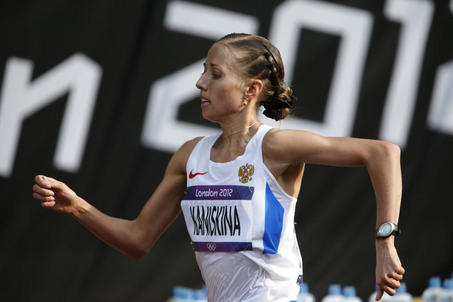 Olga Kaniskina... (Photo Emilio Morenatti, archives Associated Press)