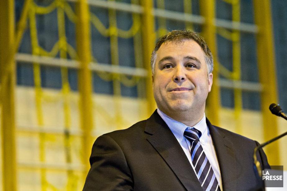 Lenouveau ministre de l'Éducation, Sébastien Proulx... (PHOTO PATRICK SANFAÇON, LA PRESSE)