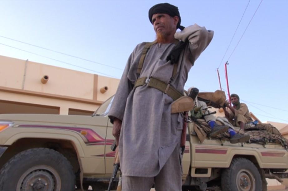 Le documentaire Salafistes reprend des images d'exécutions collectives... (PHOTO FOURNIE PAR LA PRODUCTION)