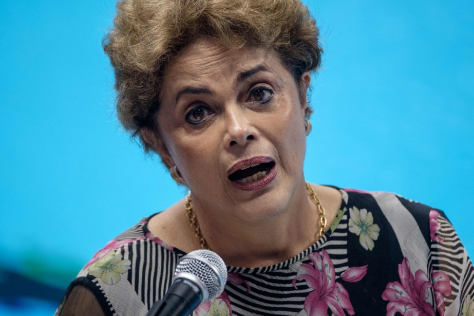 Dilma Rousseff... (Photo AFP)