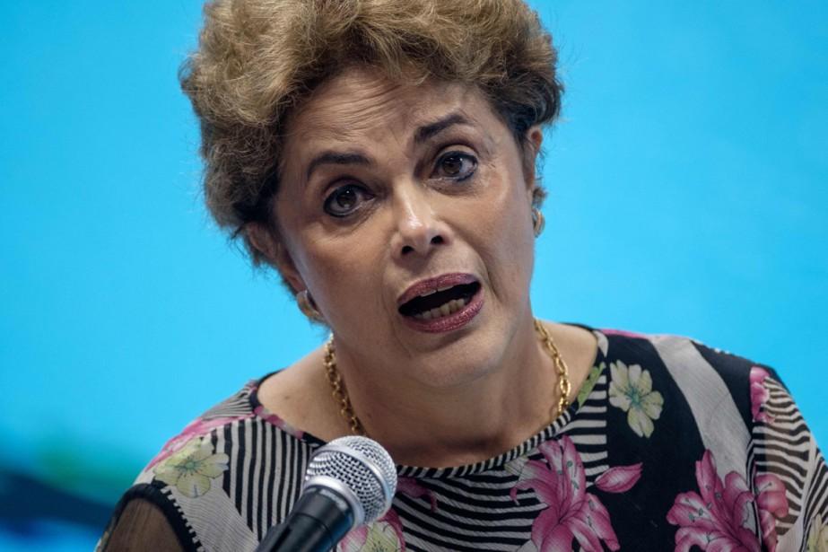 DilmaRousseff... (Photo AFP)