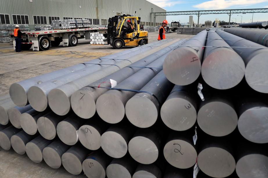 Alcoa,troisième producteur d'aluminium en importance au monde, a... (PHOTOStephen Morton, Archives BLoomberg)