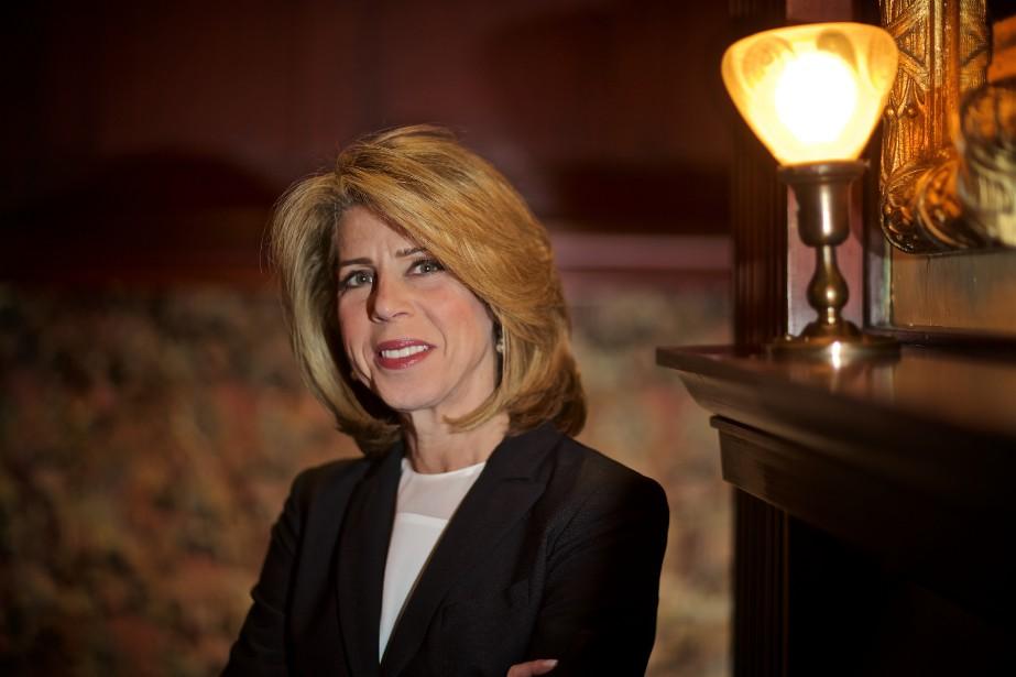 Dana Ades-Landy est présidente de l'Association des femmes... (PHOTO ANDRÉ PICHETTE, LA PRESSE)