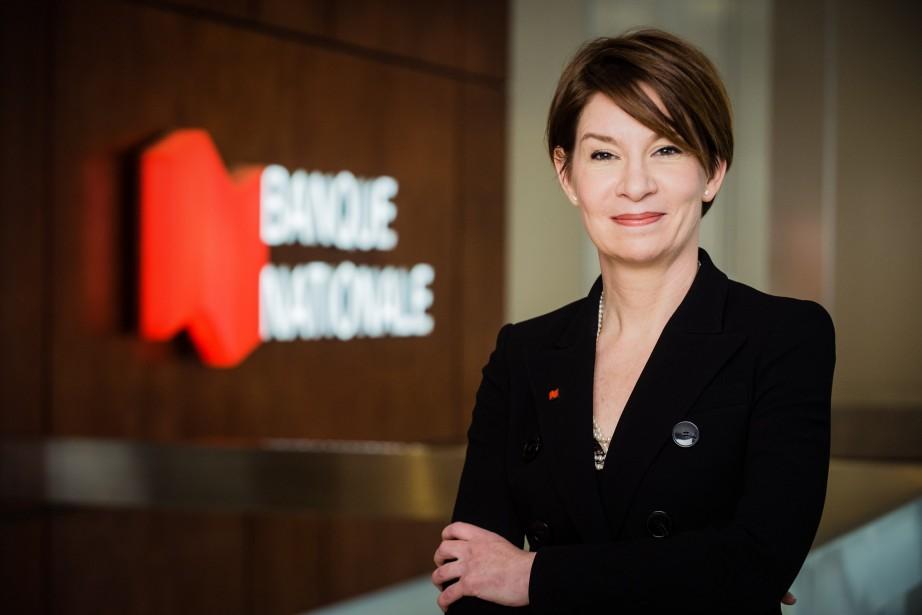 Caroline Vermette, vice-présidente gestion de la performance financière,... (PHOTO FOURNIE PAR LA BANQUE NATIONALE)