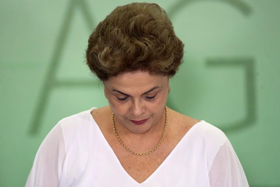 La présidente brésilienne Dilma Rousseff.... (PHOTO ADRIANO MACHADO, ARCHIVES REUTERS)