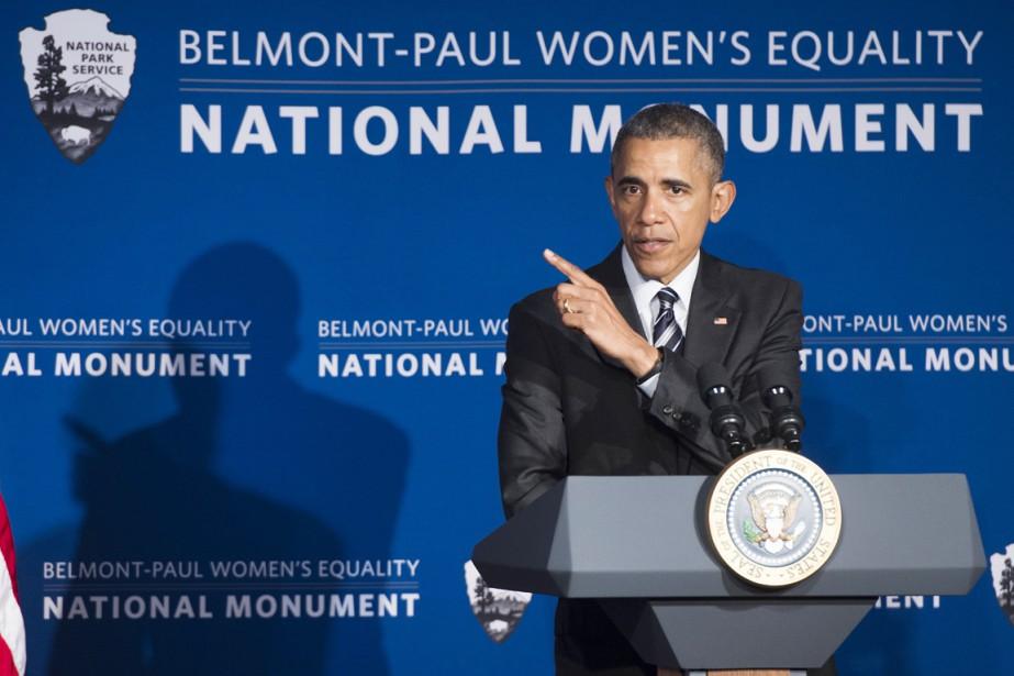 «Aujourd'hui, en moyenne, une femme qui travaille à... (PHOTO SAUL LOEB, AFP)