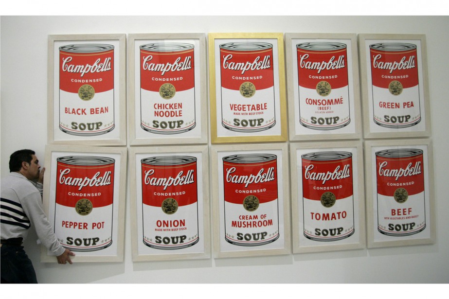 Campbell's Soup d'Andy Warhol.... (PHOTO REUTERS)
