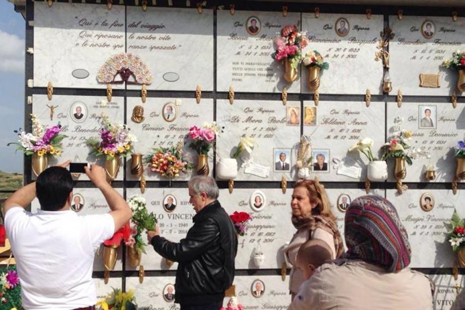 Le cimetière de Ribera, à une cinquantaine de... (PHOTO LA STAMPA)